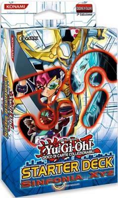 Starter Deck YuGiOh SINFONIA XYZ Italiano Konami Yu-Gi-Oh! Mazzo Yugi