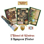 Four Against Darkness: I Tunnel di Kendras - 3 Dungeon Posters