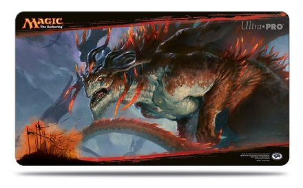 Playmat Ultra Pro Magic DRAGONS OF TARKIR 5 DRAGONLORD ATARKA Tappetino Carte