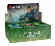 Box Magic ZENDIKAR RISING 36 Buste Booster Inglese