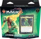 Mazzo Magic Commander ZENDIKAR RISING LAND'S WRATH Deck ZNR Inglese