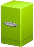 Deck Box Ultra Pro Magic SATIN TOWER LIME GREEN Verde Limone Porta Mazzo Scatola 100 Carte