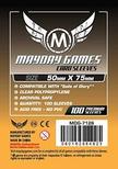 100 Sleeves Mayday STANDARD 50x75 Bustine Protettive Giochi da Tavolo Buste