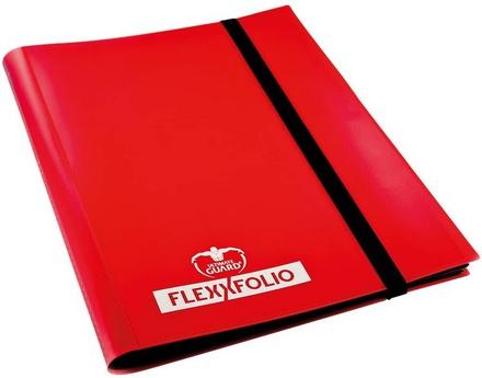 Album  4 tasche Ultimate Guard 4 POCKET FLEXXFOLIO  Red Rosso 20 pagine