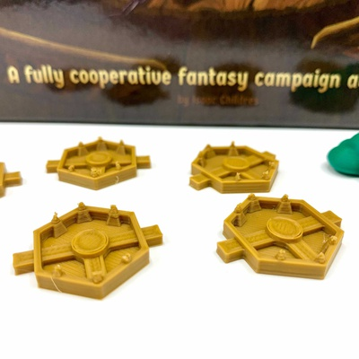 Gloomhaven: 14x Set Token Trappole Deluxe 3D