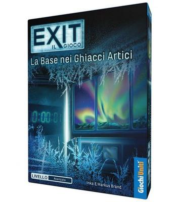 EXIT : LA BASE NEI GHIACCI ARTICI Gioco da Tavolo