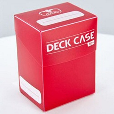 Deck Case Box 80+ Ultimate Guard Magic RED ROSSO Porta Mazzo