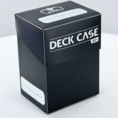 Deck Case Box 80+ Ultimate Guard Magic BLACK NERO Porta Mazzo