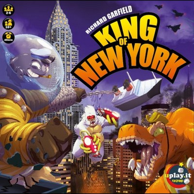 KING OF NEW YORK Gioco da Tavolo in Italiano