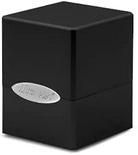 Deck Box Ultra Pro Magic SATIN CUBE Black Nero Porta Mazzo Scatola 100 Carte