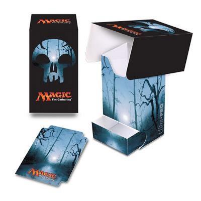 Deck Box Verticale Ultra Pro Magic MANA 5 SWAMP Palude Porta Mazzo