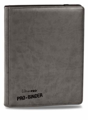 Album Ultra Pro PRO BINDER PREMIUM GREY Grigio Raccoglitore 9 Tasche 20 Pagine