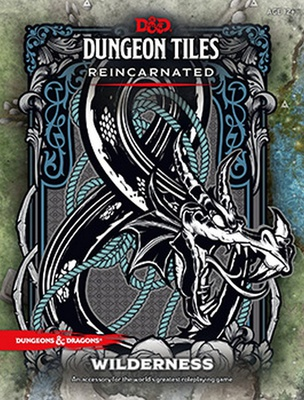 D&D DUNGEON TILES REINCARNATED : TERRE SELVAGGE 5th Edition Accessorio Gioco di Ruolo