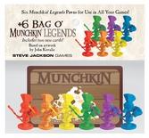 MUNCHKIN : +6 BAG O' MUNCHKINS LEGENDS Espansione Gioco da Tavolo