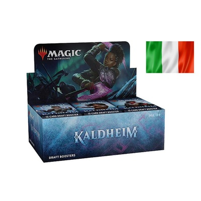 Box Magic KALDHEIM 36 Buste Booster Italiano