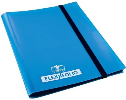 Album  4 tasche Ultimate Guard 4 POCKET FLEXXFOLIO  Blue Blu 20 pagine