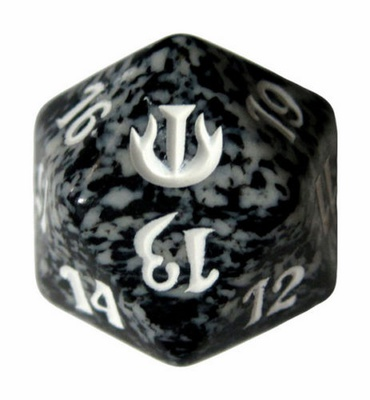 Magic SPINDOWN Dice d20 JOU Black Nero Dado Segna Punti Life Counter