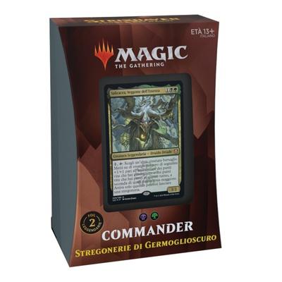 Mazzo Magic Commander STRIXHAVEN STREGONERIE DI GERMOGLIOSCURO Deck STX Italiano
