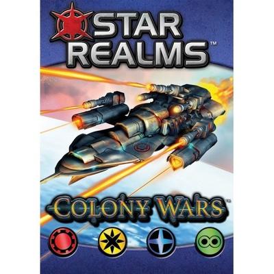 STAR REALMS COLONY WARS Gioco da Tavolo