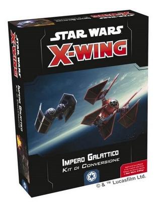 STAR WARS X-WING 2ed : KIT CONVERSIONE IMPERO GALATTICO Gioco di Miniature