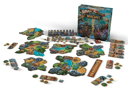 SMALL WORLD OF WARCRAFT Gioco da Tavolo