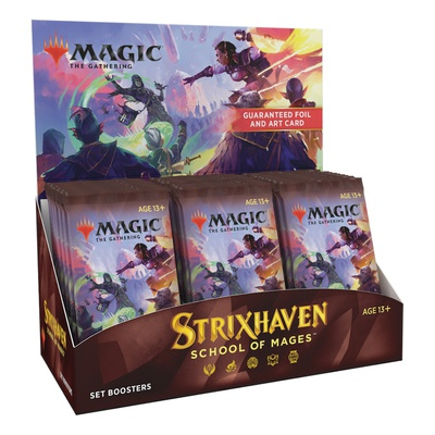 Box Magic STRIXHAVEN 30 Buste Set Booster Display Inglese