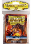 50 Deck Protector Sleeves Dragon Shield Magic STANDARD ORANGE Arancio Bustine Protettive Buste