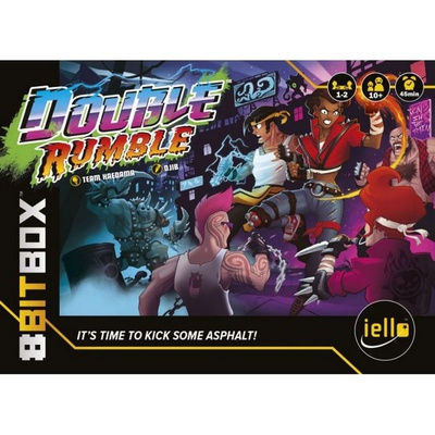 8BIT BOX : DOUBLE RUMBLE Espansione Gioco da Tavolo