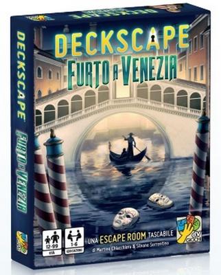 DECKSCAPE : FURTO A VENEZIA Gioco da Tavolo