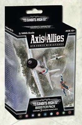 AXIS & ALLIES : AIR FORCE MINIATURES BANDITS HIGH BOOSTER PACK Espansione Gioco da Tavolo Inglese