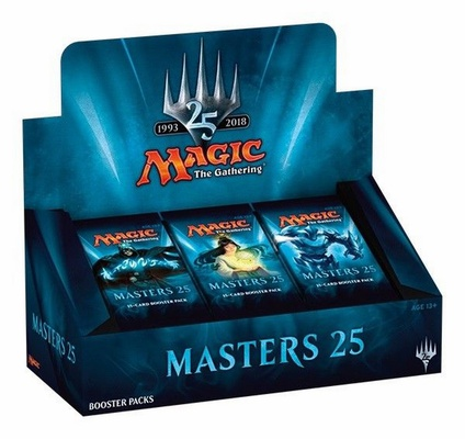 Box Magic MASTERS 25 Booster Inglese