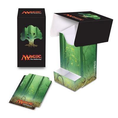 Deck Box Verticale Ultra Pro Magic MANA 5 FOREST Foresta Porta Mazzo
