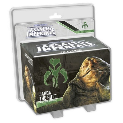 STAR WARS ASSALTO IMPERIALE : JABBA THE HUTT Pack Nemico Miniatura Espansione
