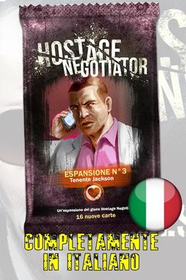 HOSTAGE NEGOTIATOR : TENENTE JACKSON Espansione N 3 Gioco da Tavolo