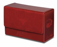 Deck Box Ultra Pro Magic MANA DUAL FLIP BOX RED Rosso Porta Mazzo Scatola 200 Carte