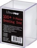 Gaming Box Ultra Pro Magic 100+ Clear Trasparente Porta Mazzo Scatola 100 Carte