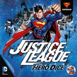 JUSTICE LEAGUE : HERO DICE SUPERMAN Gioco da Tavolo Italiano