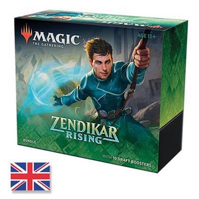 Bundle Magic ZENDIKAR RISING 10 Boosters Fat Pack Inglese