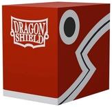 DRAGON SHIELD Double Deck Shell Red/Black Porta Mazzo