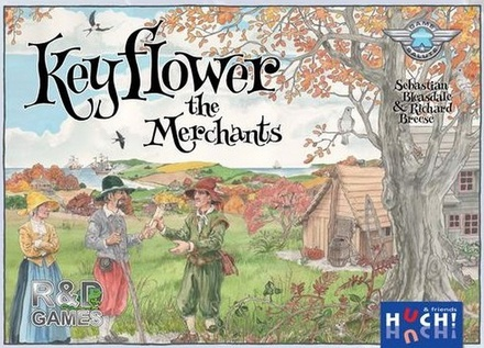 KEYFLOWER : THE MERCHANTS Gioco da Tavolo