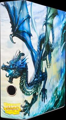 Album Dragon Shield SLIPCASE BINDER Blue Art Dragon Raccoglitore Anelli con Cofanetto