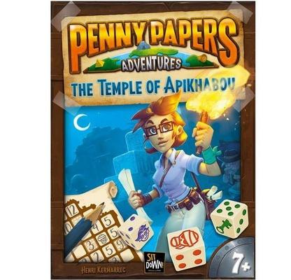 PENNY PAPERS ADVENTURES : IL TEMPIO DI APIKHABOU Gioco da Tavolo