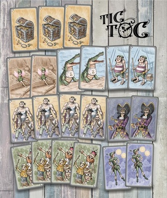 TIC TOC Gioco da Tavolo