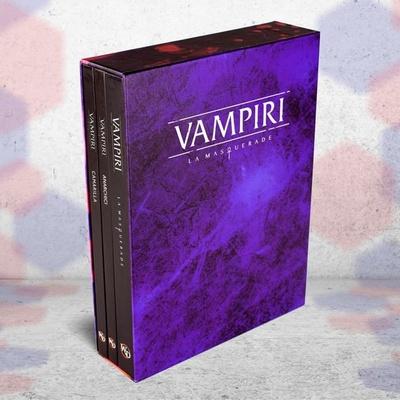VAMPIRI LA MASQUERADE 5a ED. Deluxe Box BUNDLE