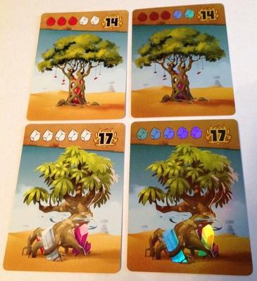 ISHTAR : I GIARDINI DI BABILONIA PROMO CARDS FOIL Promo Gioco da Tavolo