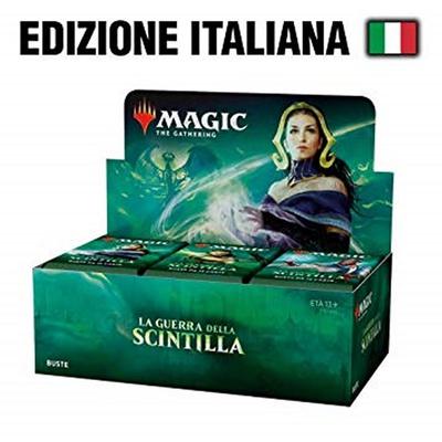 Box Magic WAR OF THE SPARK -  LA GUERRA DELLA SCINTILLA 36 Buste Booster Italiano