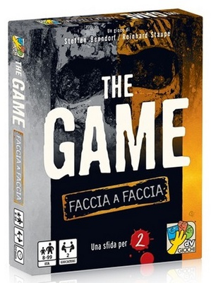 THE GAME FACCIA A FACCIA Gioco da Tavolo