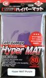 80 Bustine Protettive KMC Magic Series HYPER MAT PURPLE Barrier Buste Viola MTG