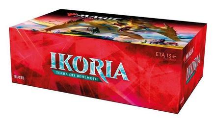 Box Magic IKORIA TERRA DEI BEHEMOTH 36 Buste Booster Italiano
