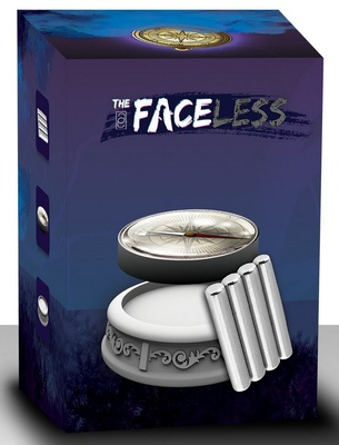 THE FACELESS : MAGNETI E BUSSOLA Accessorio Gioco da Tavolo